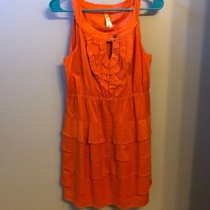 Tiered Anthropologie Dress